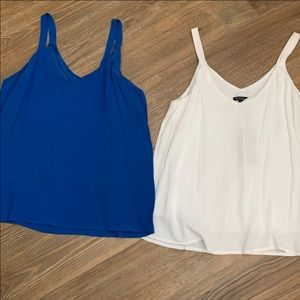 NWT Set of 2 Camisole Tank Tops Size L